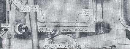 Id Nailhead on Ford Engine Block Id Numbers