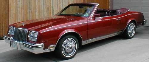 1982 Riviera Convertible Stapell